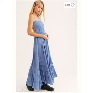 Free People Extratropical Shiny Dress